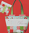 Vintage Charm Tote and Pouch Pattern - Retail $10.00