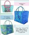 Beach Bag Trio Pattern - Retail $9.00