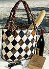 Diamond Island Tote Bag Pattern - Retail $9