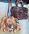 All Ruffled Up Handbag Pattern - Retail $11.00