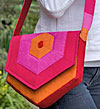 Hex Messenger Bag Pattern - Retail $12.95