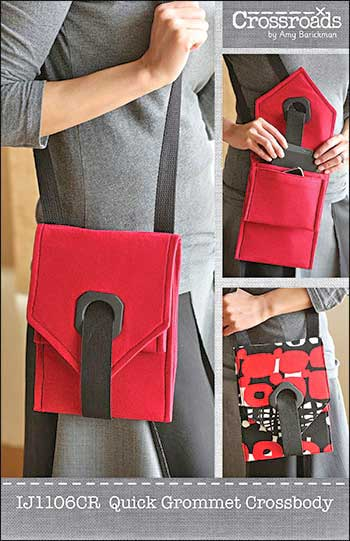 Quick Grommet Crossbody Bag - Retail $11.99