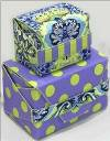 Gertie Gift Boxes Pattern - Retail $10.00