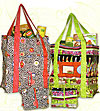 Fold-N-Go Green Grocery Bag Pattern - Retail $9.50