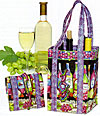 Fold-N-Go Green Wine Bag Pattern - Retail $9.50