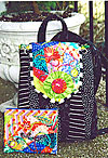 Crazy Patch Backpack and Purse - Retail $7.00