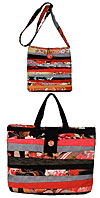 Rubys Strip Design Bag - Retail $7.50