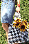Tote-Ably Green Bag and Wallet Pattern - Retail $9.00