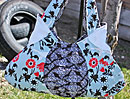 A Little Scrunched Handbag Pattern - Retail $9.00
