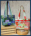 Steps Tote Bag Pattern - Retail $8