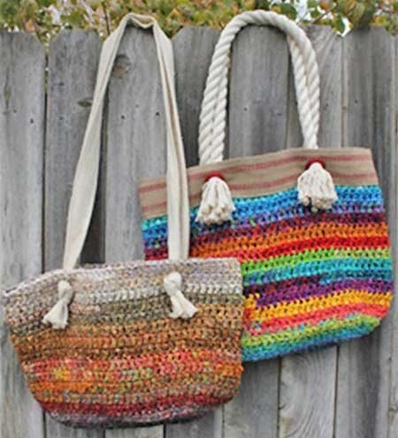 Island Beach Bum Bags Pattern - Retail $12.00 - Click Image to Close
