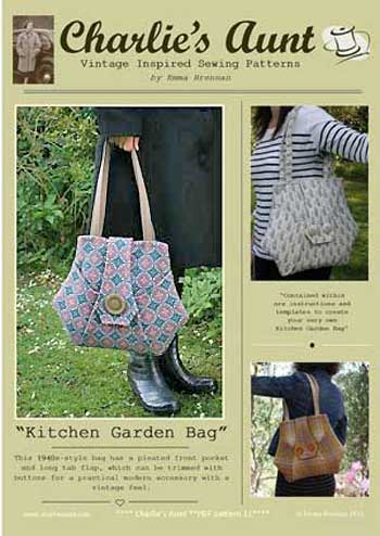 Kitchen Garden Bags Pattern - Retail $9.00 - Click Image to Close