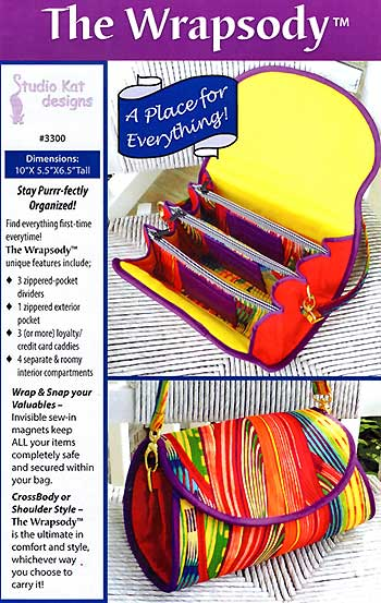 The Wrapsody Bag Pattern - Retail $12.99 - Click Image to Close