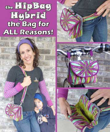 The HipBag Hybrid Pattern - Retail $12.99 - Click Image to Close