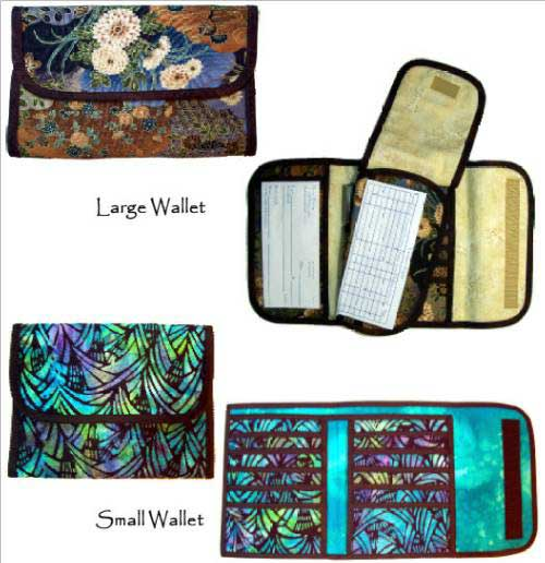 Wallet Patterns by Quilttricks - Retail $10.00 - Click Image to Close