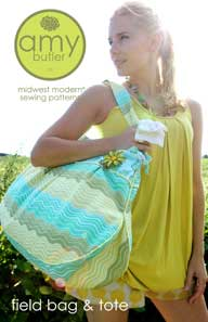 Field and Tote Bag Pattern - Retail $12.95