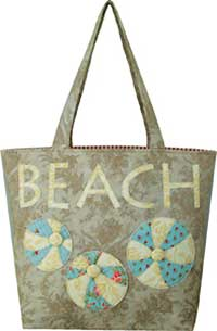 Vintage Beach Tote Pattern - Retail $10.00