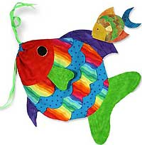 Big Mouth Fish Bag Pattern - Retail $10.50