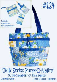 Jelly Strips Purse-O-Nality Bag Pattern - Retail $12.00