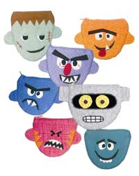 Monster Cash and Coin Purse Pattern - Retail $9.00