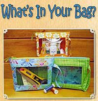 What's In Your Bag? Pattern - Retail $8.50