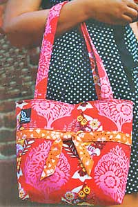 Fit To Be Tied Tote Pattern - Retail $12.98