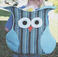 The Owl Pack Pattern - Retail $9.00