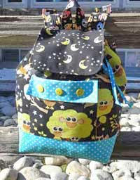 Backpack Adventures Pattern - Retail $9.00