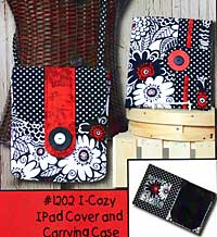 I-Cozy IPad Cover and Carrying Case Pattern - Retail $8