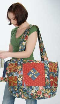 The Lime Twist Quilters Bag Pattern - Retail $11.99