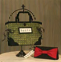 Haute Handbags and Clutch - Retail $9.00