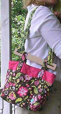 Cheryl's Bag Pattern with Handles- $18.00
