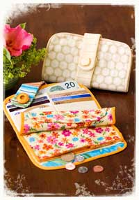 A Safe Place Wallet Pattern - Retail $13.95