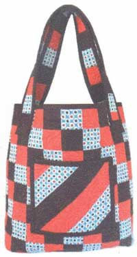 Checkered Tote Pattern - Retail $8.50