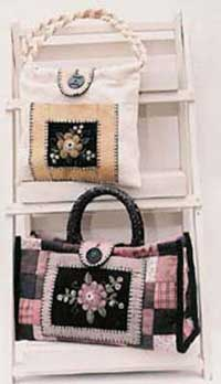 Purses and Posies Pattern - Retail $8.50