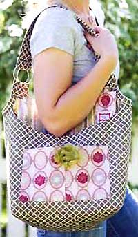 Sassy Connie Arm Bag Pattern - Retail $12.50