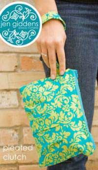 Pleated Clutch Pattern - Retail $12.95