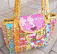 The Snazzy Bag Pattern - Retail $8.50