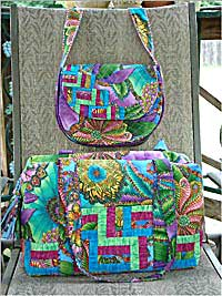 Cross Country Duo Travel Bag Pattern - Retail $10.00