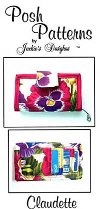 Claudette Wallet Pattern - Retail $8.00