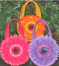 Daisy Basket Mini Tote Pattern - Retail $10.00