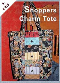 Shoppers Charm Tote Pattern - $8.00