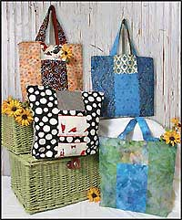 Six Pack Stack Reversible Tote - Retail $8.00