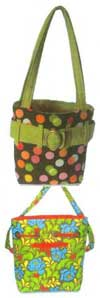 The Trendy Tote With A Twist Pattern - Retail $10.00