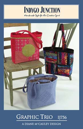 Graphic Trio Bag Patterns - Retail $8.99