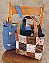 Two-Way Tote Pattern - Kimie's Quilts - Retail $6.99