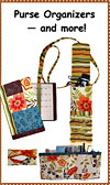 Purse Organizer Pattern - Retail $9.95
